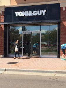 Toni + Guy commercial window tint